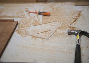 a trabajar con madera