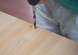 taladrar la madera