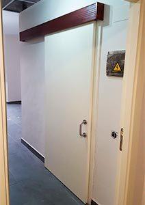 puerta de madera MD hidrofugo