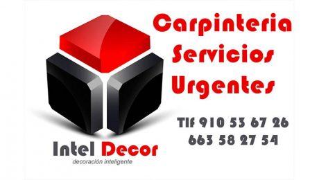 carpinteros urgencias
