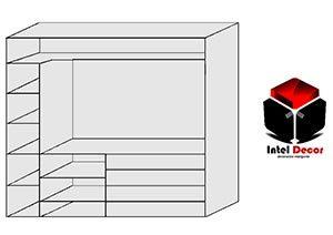 plano de armario