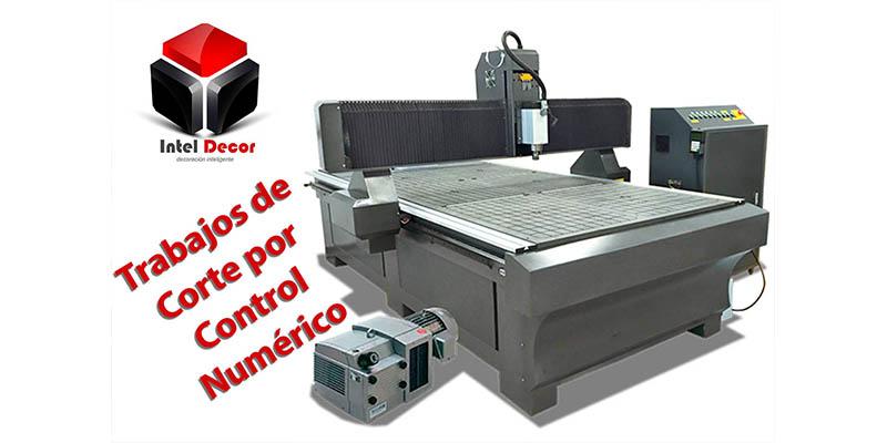 Maquina para corte por control numérico