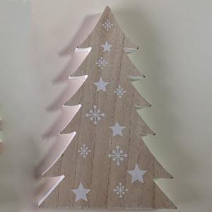 Arbolito de Navidad con estrellas