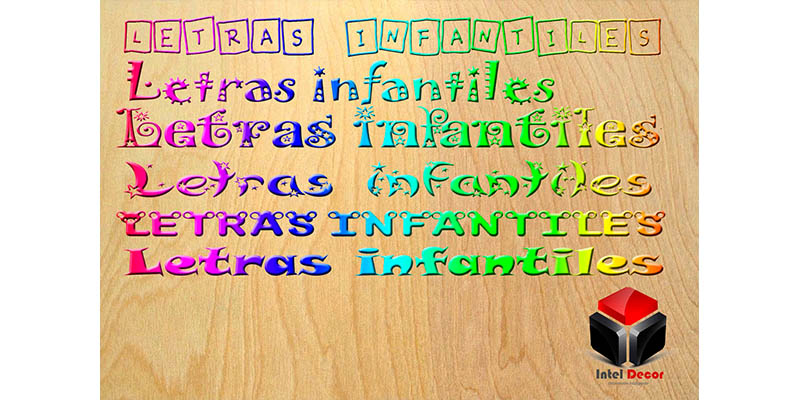 Rotulos infantiles