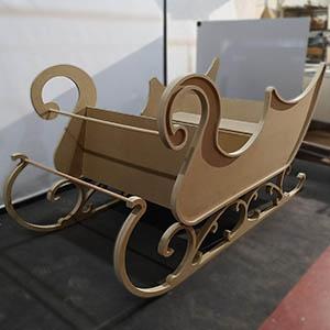 fabricacion de trineo