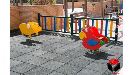 Restauracion de parque infantil