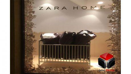 Escaparate para Zara home